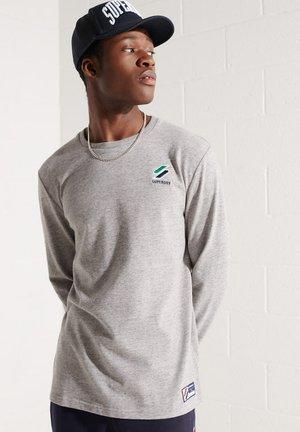 SPORTSTYLE ESSENTIAL  - Long sleeved top - grey slub grindle