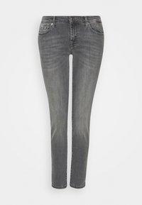 7 for all mankind - PYPER CROP - Slim fit jeans - grey - 0