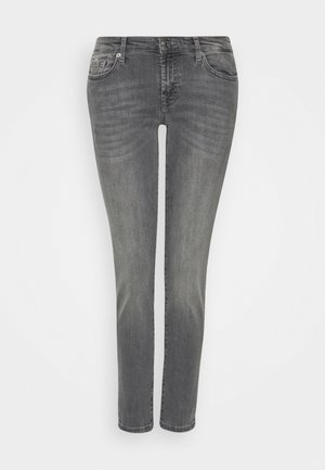 PYPER CROP - Slim fit jeans - grey