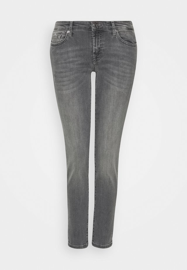 PYPER CROP - Slim fit jeans - grey