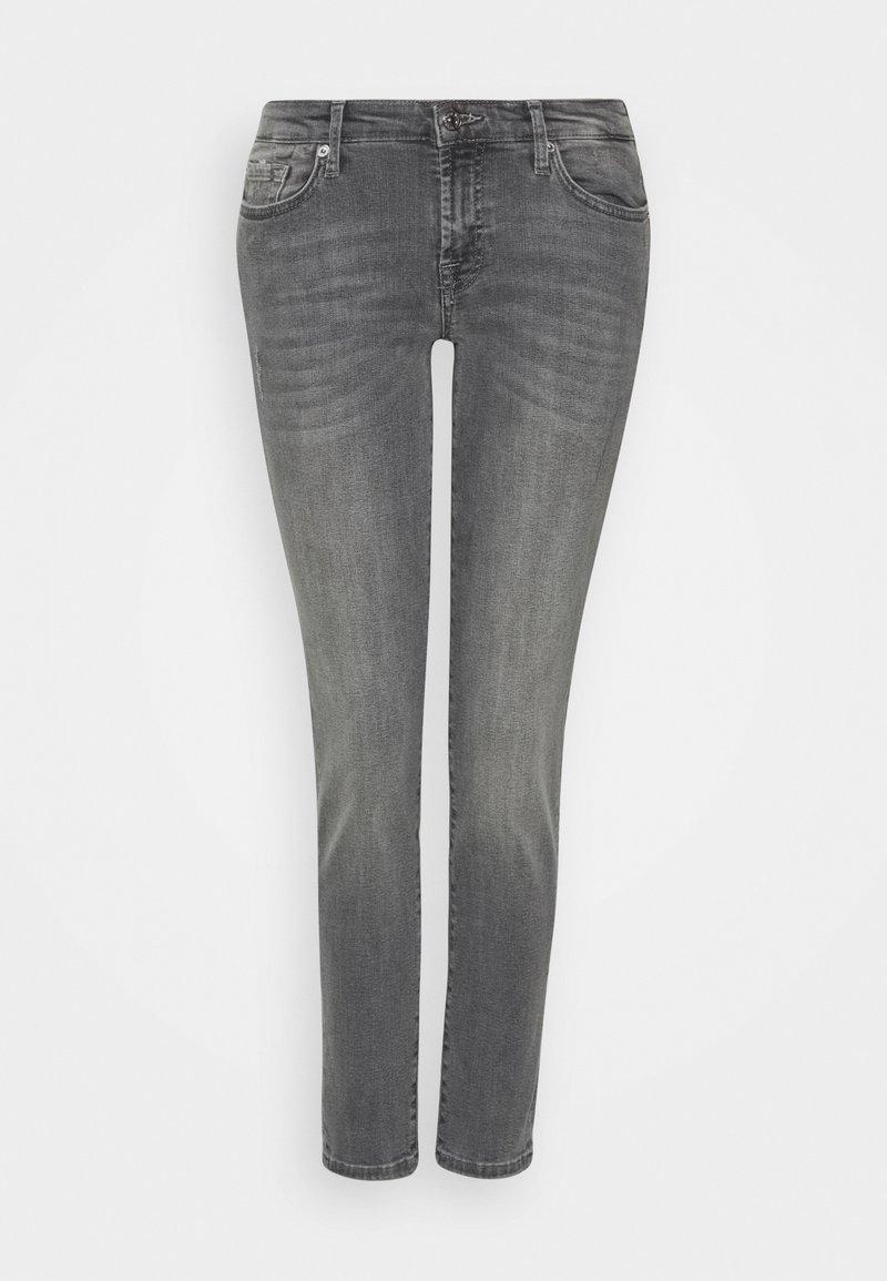 7 for all mankind - PYPER CROP - Slim fit jeans - grey