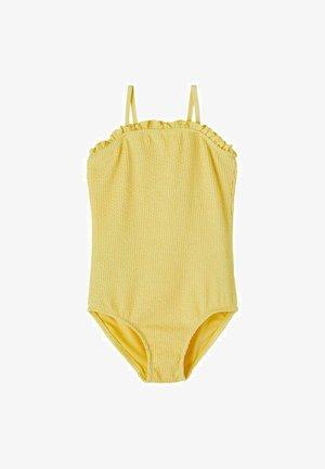 KNITTEREFFEKT RÜSCHEN - Swimsuit - sunlight