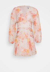 BLOUSON MINI DRESS - Day dress - orange