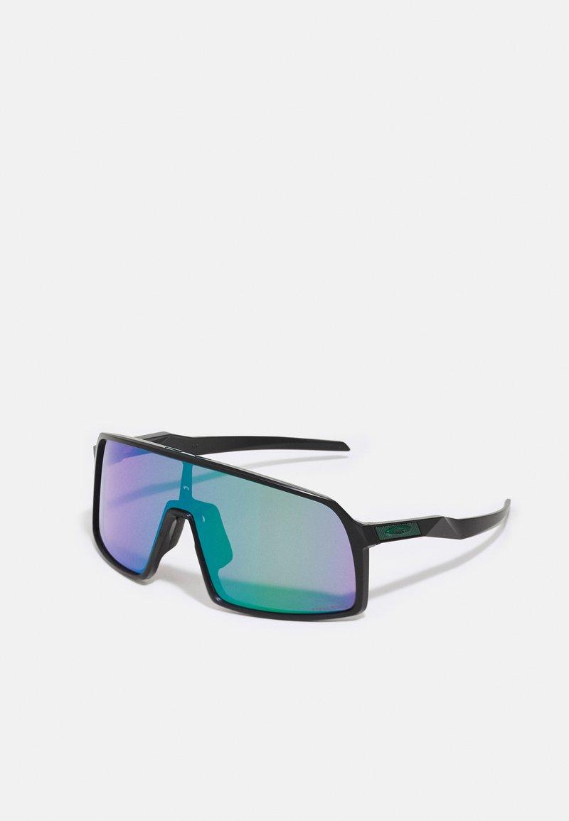 Oakley - SUTRO UNISEX - Sportbrille - matte black/road jade