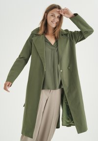 InWear - YUMA - Trenchcoat - beetle green - 0