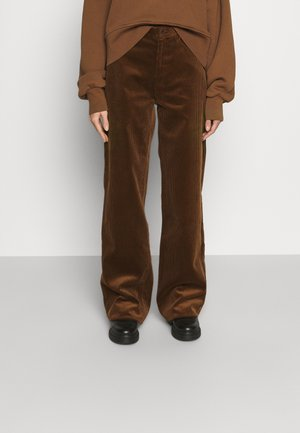 KIRI LONG - Trousers - toffee