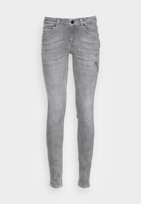 Marc O'Polo - TROUSER SKINNY FIT REGULAR LENGTH LOW WAIST - Jeans Skinny Fit - grey wash - 3