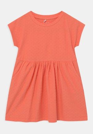 NMFDORTE - Jersey dress - persimmon