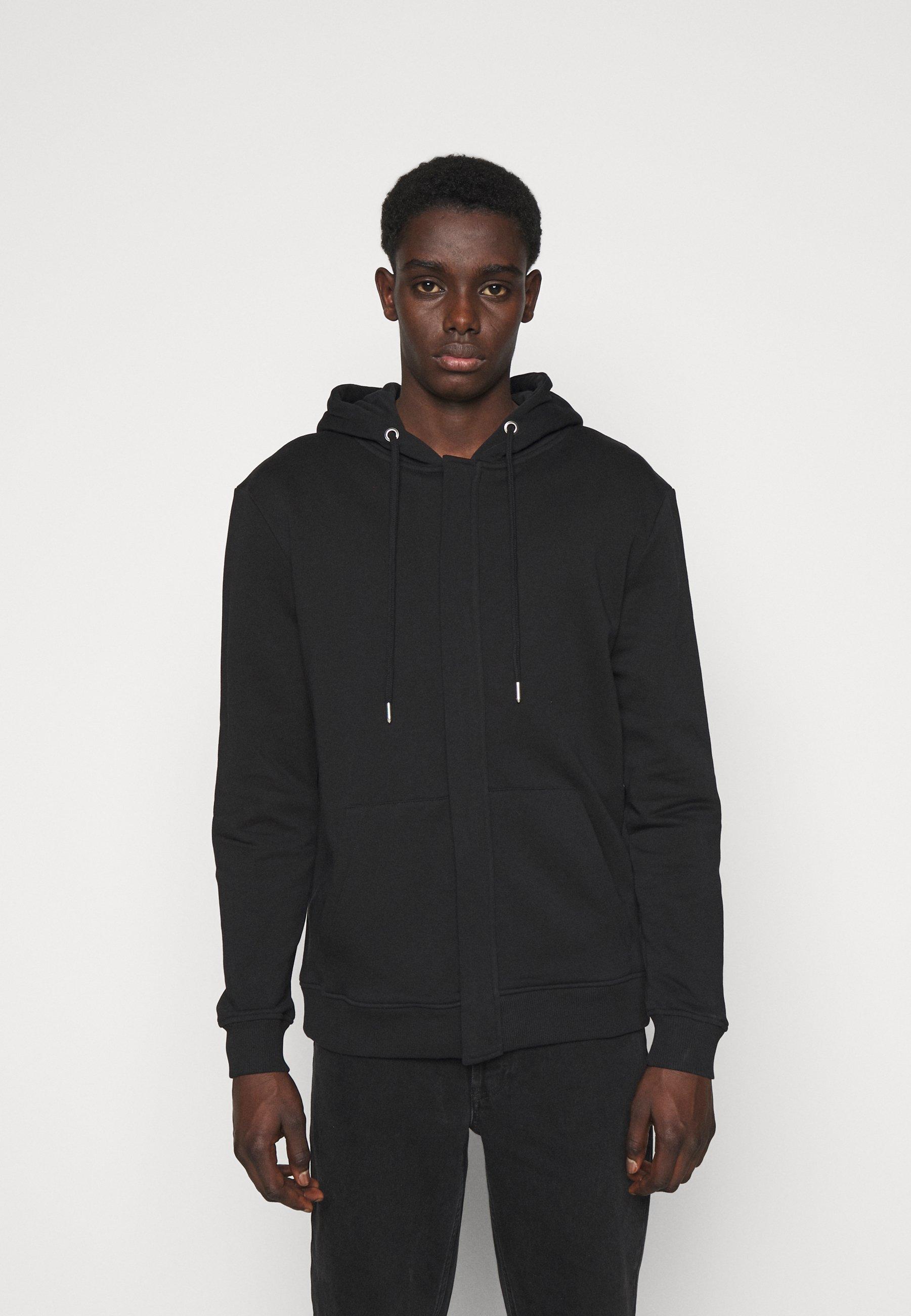 Men PAUL AARON HIDDEN ZIP HOODIE - Zip-up sweatshirt