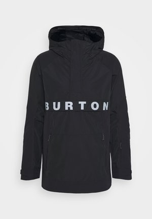 MENS FROSTNER ANORAK - Snowboard jacket - black