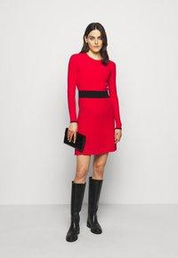 HUGO - SEAGERY - Jumper dress - open pink - 1