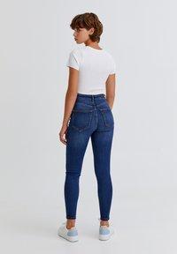 PULL&BEAR - Jeans Skinny Fit - dark blue - 2