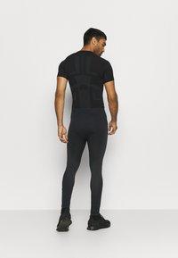 ODLO - PERFORMANCE WARM ECO BOTTOM LONG - Unterhose lang - black/new odlo graphite grey - 2