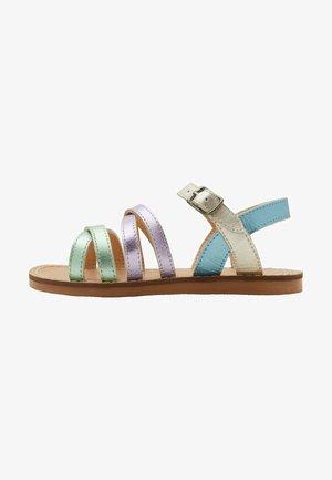 Sandals - bunt/ metallic