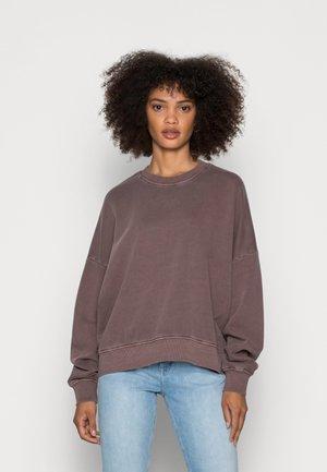 COO F GMT DYE - Sweatshirt - rust brown