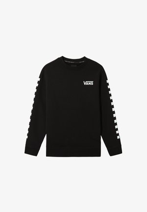 BY EXPOSITION CHECK CREW BOYS - Sweatshirt - black