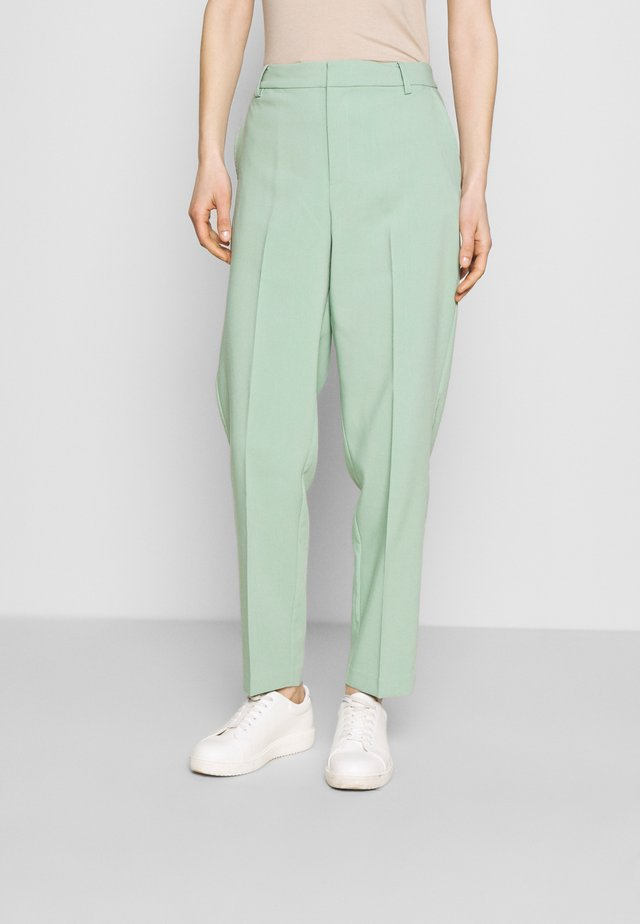 HANNELISE - Pantaloni - granite green