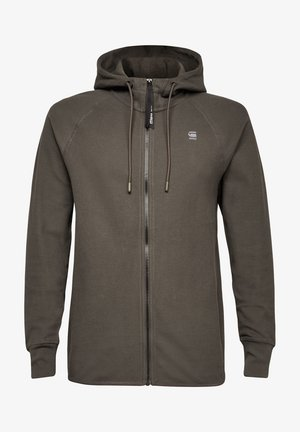 TONAL JIRGI HOOD LONG SLEEVE - Zip-up hoodie - asfalt