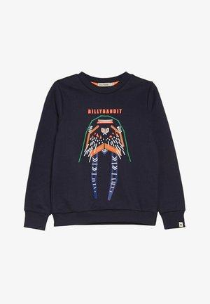 Sweatshirt - blaugrau