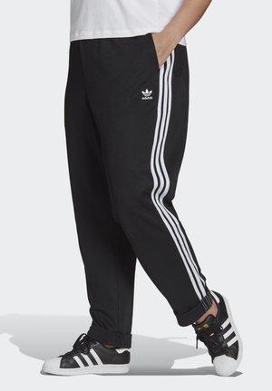BOYFRIEND PANT - Verryttelyhousut - black/white