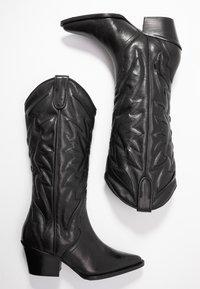 Bronx - JUKESON - Cowboy/Biker boots - black - 3