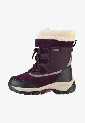 Winter boots - deep purple