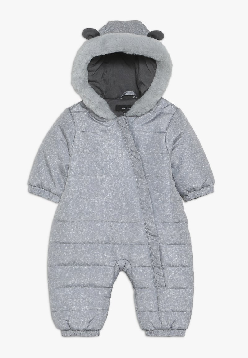Name it - NBNMOI SUIT - Overall - grey melange