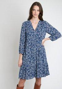 Maison 123 - Day dress - bleu marine - 0