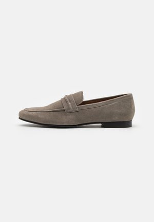 LEATHER - Mocasines - grey