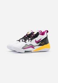 Jordan - ZOOM '92 - Zapatillas altas - white/cactus flower/black/smoke grey/laser orange - 5