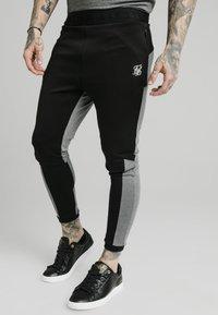 SIKSILK - ENDURANCE TRACK PANTS - Pantaloni sportivi - grey/black - 0