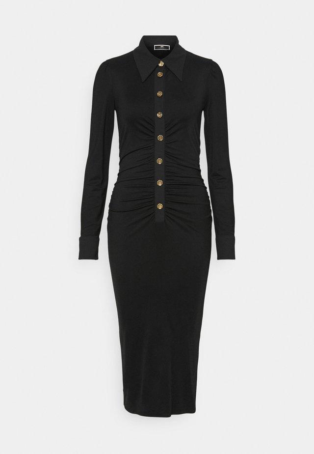 Długa sukienka - nero