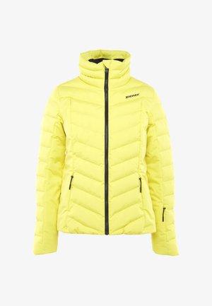 TALMA LADY - Ski jacket - yellow power