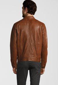 Capitano - NEBRASKA  - Leather jacket - mocca brown - 2