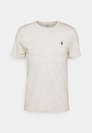 CUSTOM SLIM FIT JERSEY CREWNECK T-SHIRT - T-shirt basique - american heather