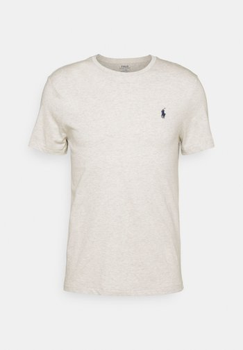 CUSTOM SLIM FIT CREWNECK - Basic T-shirt - american heather