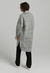Bershka - Classic coat - grey - 2