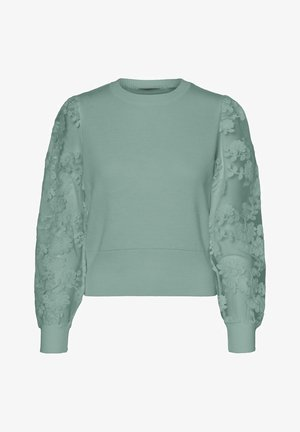 VMFLOWER O NECK - Jumper - jadeite