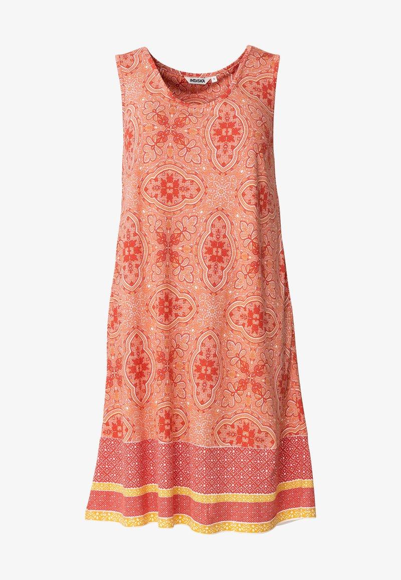 Indiska - Jersey dress - coral