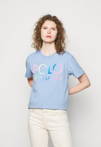 Polo Ralph Lauren - Print T-shirt - chambray blue - 0
