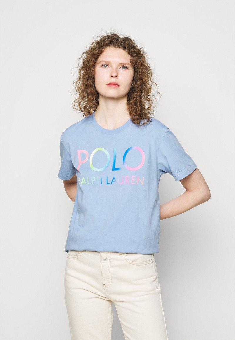 Polo Ralph Lauren - Print T-shirt - chambray blue