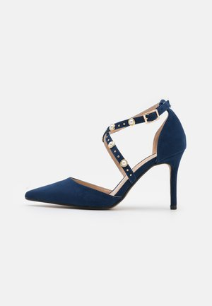 DRAPE CROSS STRAP - Avokkaat - navy