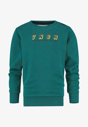 NEWTOR - Sweatshirt - teal blue