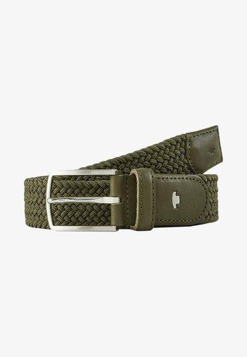 Belt - olive uni