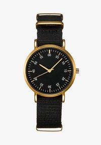 YOURTURN - Watch - black/gold - 1