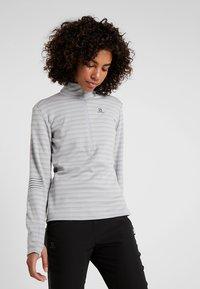 Salomon - LIGHTNING MID - Sports shirt - lunar rock - 0