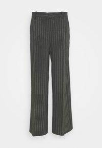 Weekday - LUXA SKEW TROUSERS - Trousers - grey - 5
