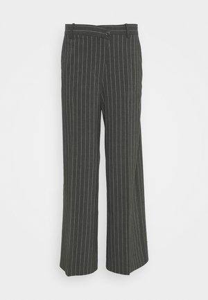 LUXA SKEW TROUSERS - Trousers - grey