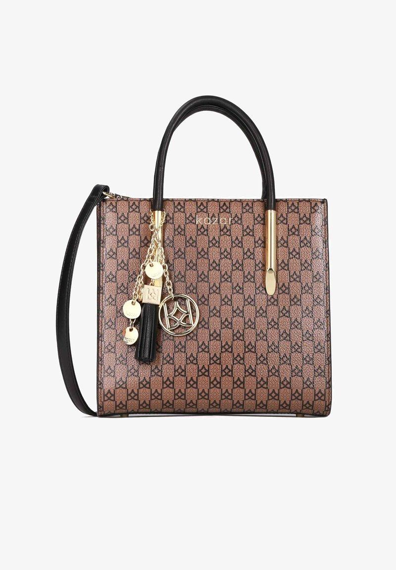 Kazar - LEXIE - Handbag - brown