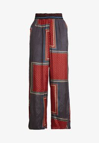 Kaffe - MEDA WIDE PANTS - Trousers - orion blue - 4